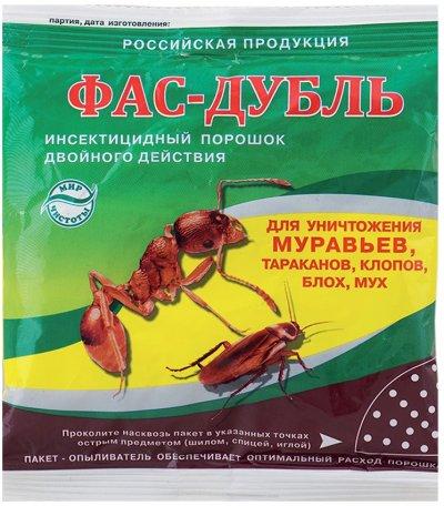 """Отзывы о средство от муравьев """"фас-дубль""""."""